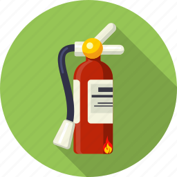 accident, alert, car, extinguisher, safety, suppression, tools icon