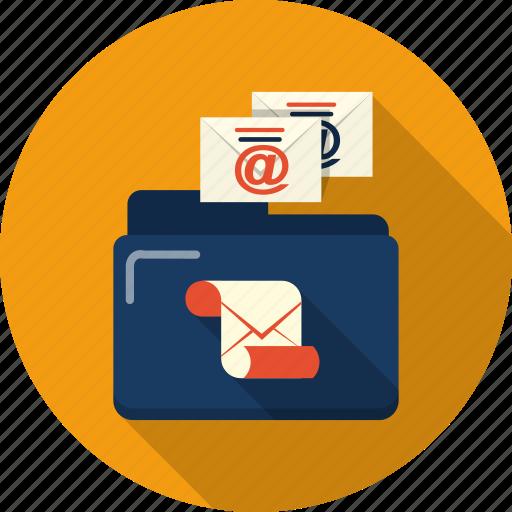 address, email, envelope, file, folder, letter, mail icon