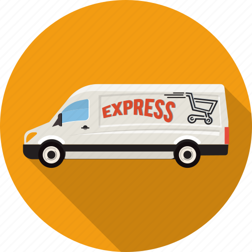 car, delivery, express, fast, online, shopping, transport icon