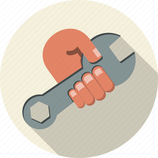 diagnosis, inspection, maintenance, mechanic, problem, repairing, wrench icon