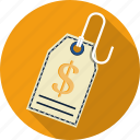 discount, label, price, price tag, sell, shopping, tag icon
