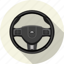 car, steering, traffic, transport, travel, vehicle, wheel icon