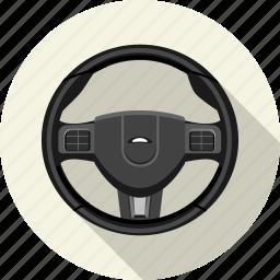 car, steering, traffic, transport, travel, vehicle, wheel icon