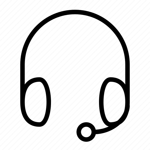 business, care, headset, quality, service icon