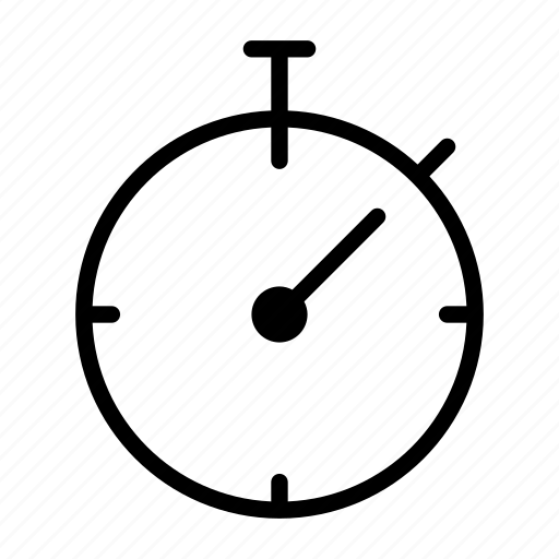 business, care, quality, service, stopwatch icon