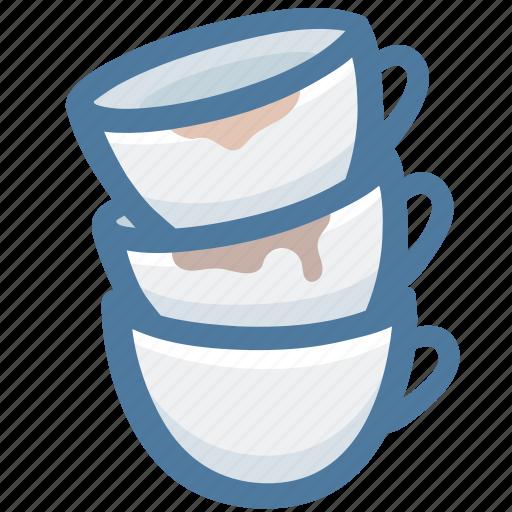 coffee shot, coffees, espresso cups, mugs, overlap, sleepless icon
