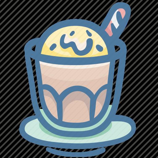 cafe, coffee, cold, icecream, restaurant icon