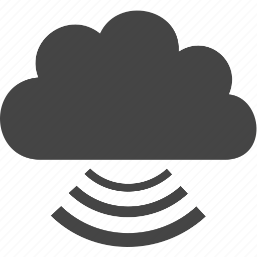 cloud, communication, rain, sky icon