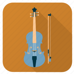 activity, hobby, instrument, music, song, sound, violin icon