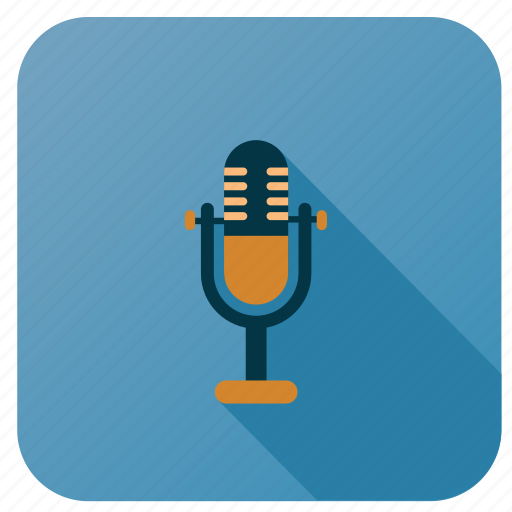 activity, hobby, instrument, microphone, music, song, sound icon