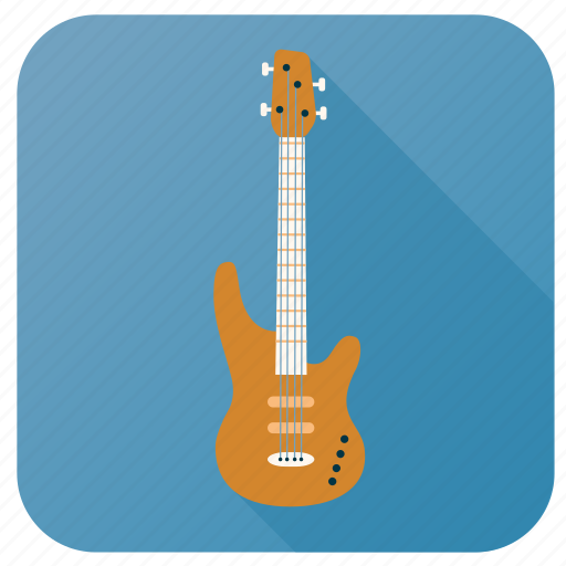 Activity, bass guitar, hobby, instrument, music, song, sound icon - Download on Iconfinder