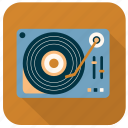 activity, disc player, hobby, instrument, music, song, sound icon