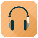 activity, gadget, headphone, hobby, instrument, music, sound icon