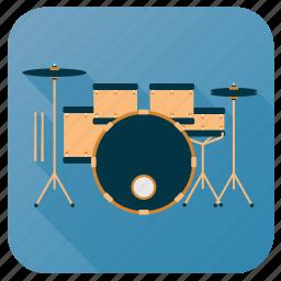 activity, drum, hobby, instrument, music, set, sound icon
