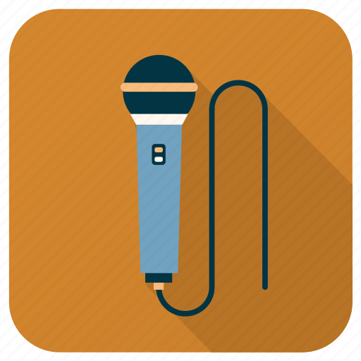 activity, hobby, instrument, microphone, music, sound, vacal icon