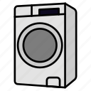 clean, clothes, laundry, machine, washing