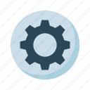 configuration, gear, option, setting, wheel icon