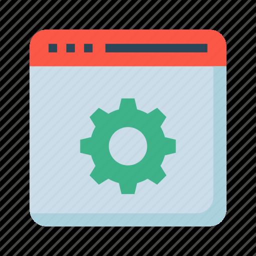 internet, online, option, setting, webpage icon