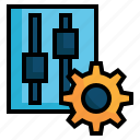 gear, wheel, setting, switch, control, play