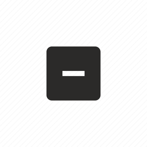 calculator, math, minus, operation icon