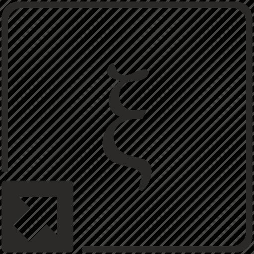 alphabet, greek, letter, xi icon