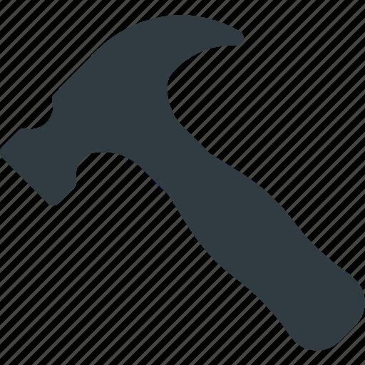 hammer, repair, set, settings, setup icon