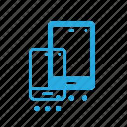 mobile, set, settings, setup, smartphone icon