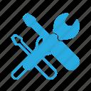 screwdriver, set, settings, setup, tools, wrench icon
