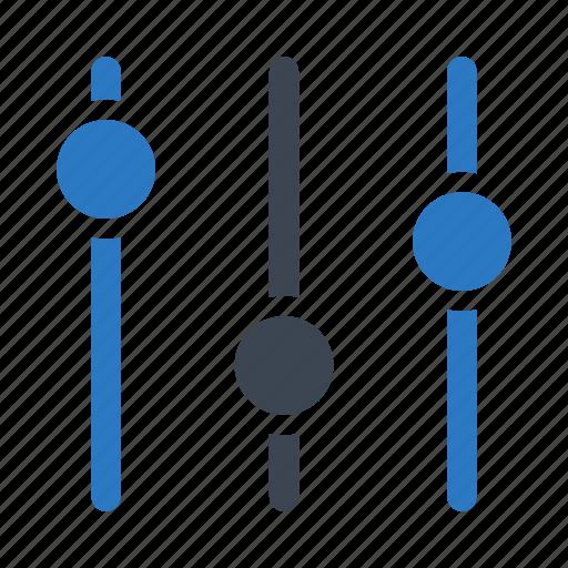 adjustment, control, equalizer, option, setting icon