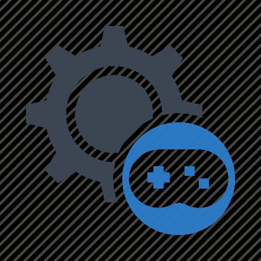 controller, game, joypad, option, setting icon