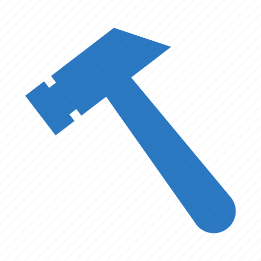 Construction, hammer, maintenance, setting, tools icon - Download on Iconfinder