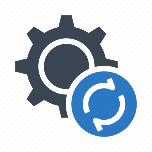 configuration, option, refresh, reload, setting icon