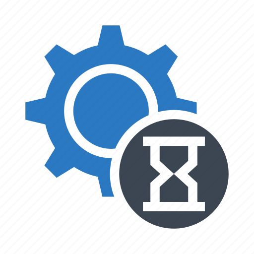 configuration, hourglass, setting, stopwatch, timer icon