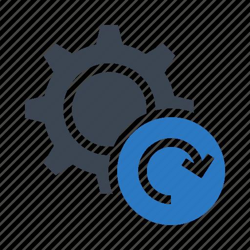 configuration, redo, refresh, reload, setting icon