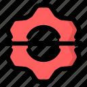 broken, delete, gear, lost, preferences, settings