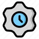 clock, options, settings, temporary, time