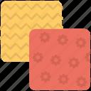doormat, handwork, mat, needle work, pattern, woolen mat icon