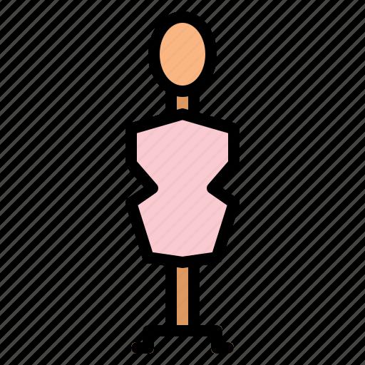 designer, dummy, fashion, sewing icon