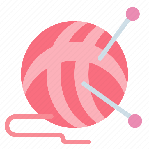 ball, dressmaker, fashion, of, sewing, tailor, wool icon