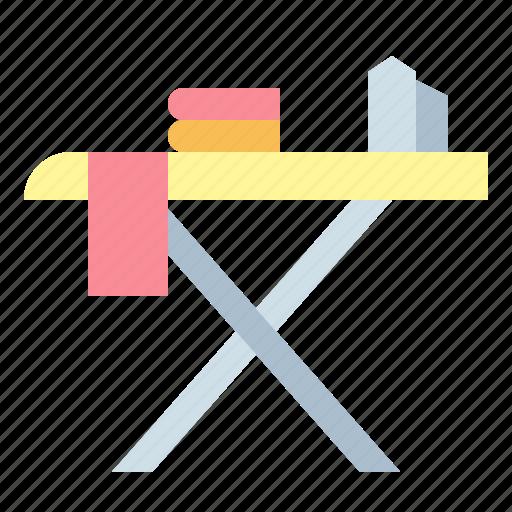 board, iron, ironing, laundry icon