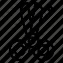 cut, cutting, handcraft, scissors icon