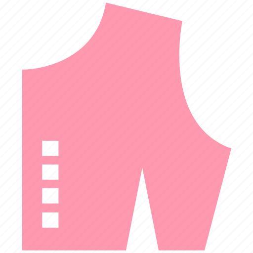 checked cloth, cloth, cutting, dress, fabric, sample icon