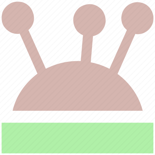 knitting, pins, sewing, tailor, tailoring, tool icon