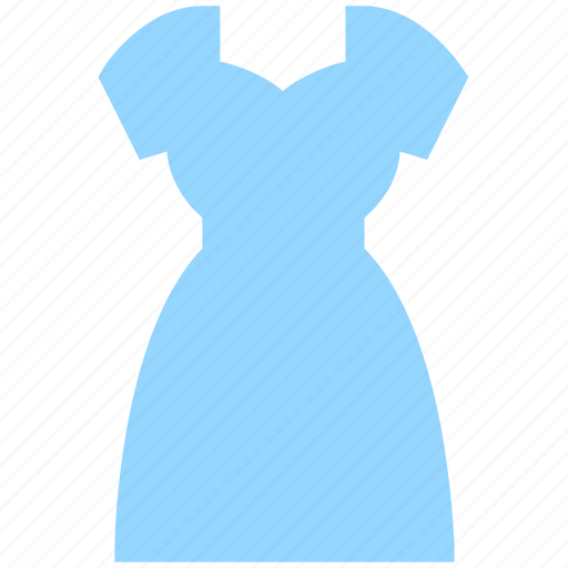 clothes, dress, fashion, frock, lady, sewing icon