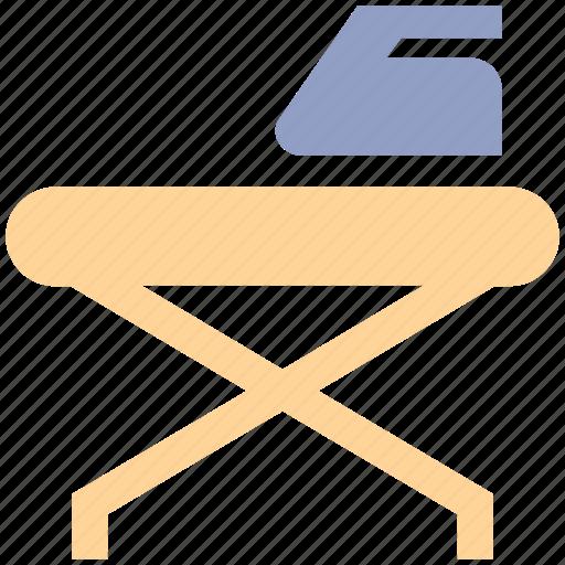 furniture, iron, iron stand, iron table, tailoring icon