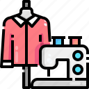 electronics, fashion, machine, machines, sewing, tool icon
