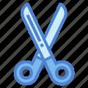 scissors, cutting, handcraft, sewing, tool