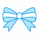 bow, decoration, ribbon icon