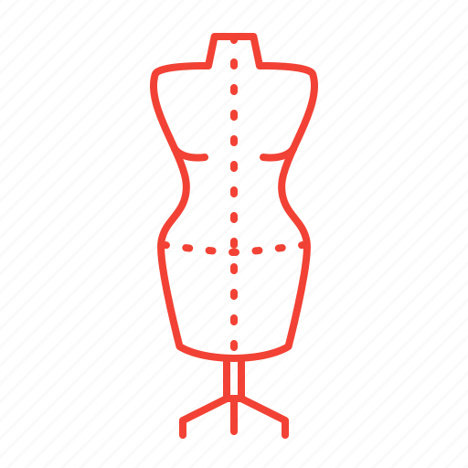 atelier, dummy, sewing, tailor icon