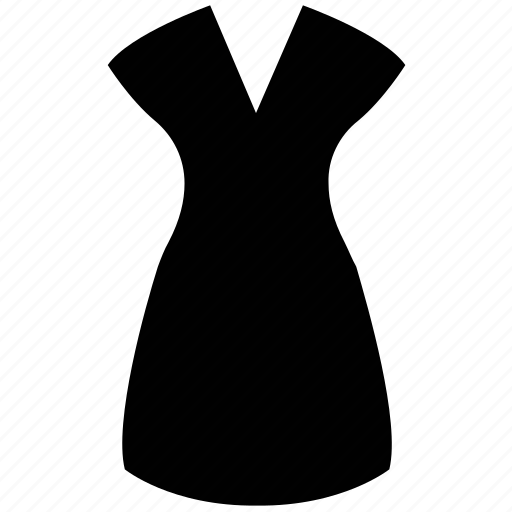 casual dress, clothing, dress, ladies dress, woman dress icon